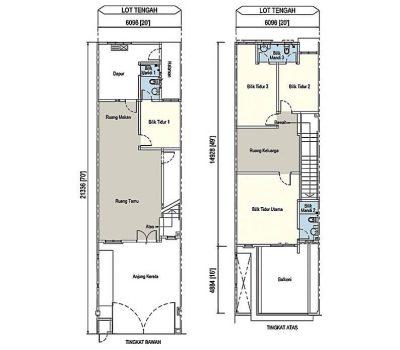 2Storey-Terrace-Bumi-House-Plan