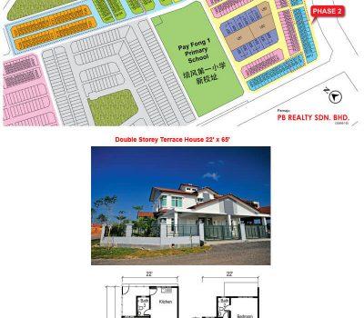 Double Storey Terrace House 22′ x 65′