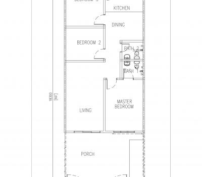 Lesung Batu Floor Plan